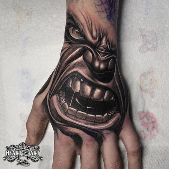 hulk-hand-tattoo