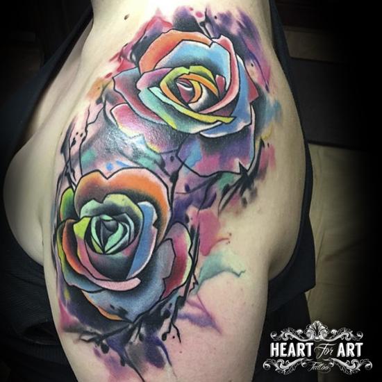 rose-art-tattoo